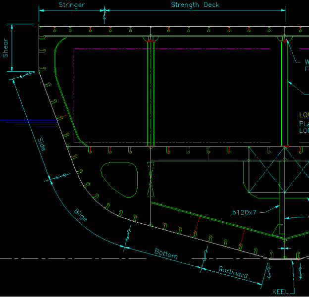 Piantina in autocad