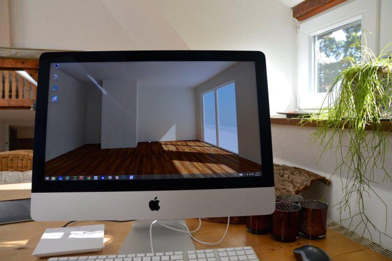 Monitor per architetti interno