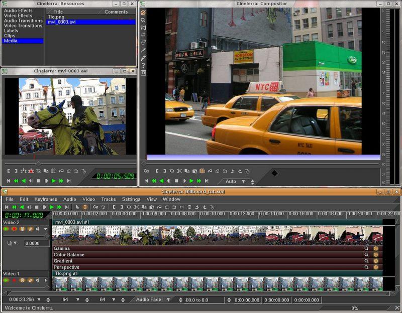 Programma di videoediting